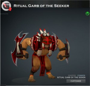 Ritual Garb of the Seeker (Bloodseeker Set)