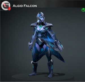 Algid Falcon (Drow Ranger Set)