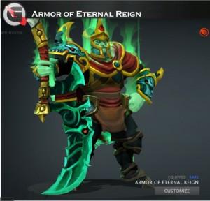 Armor of Eternal Reign (Wraith King Set)