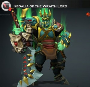 Regalia of the Wraith Lord Set (Wraith King​ Set)