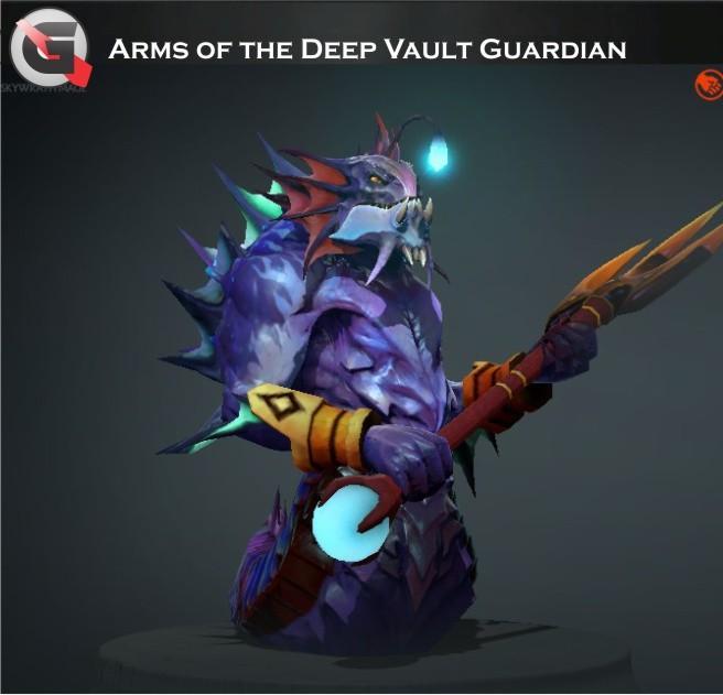 Arms of the Deep Vault Guardian Set (Slardar Set)