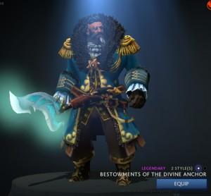 Bestowments Divine Anchor FULL KINETIC (Kunkka)