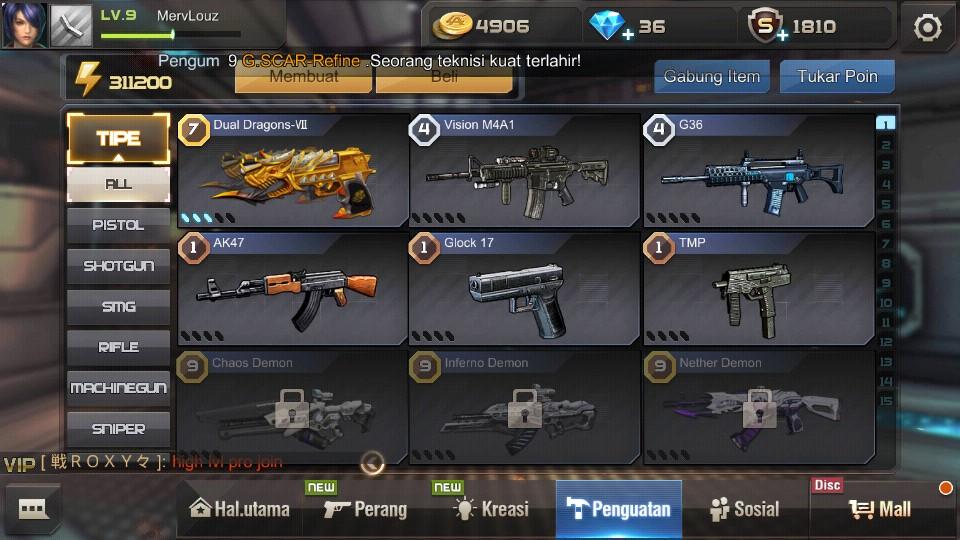 Dual Dragon Lvl7 Ft Vision VIP1