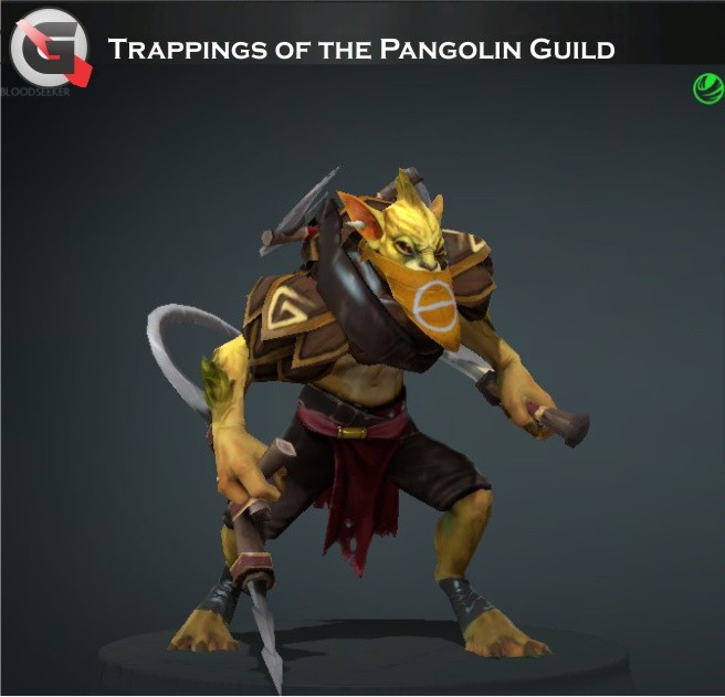 Trappings of the Pangolin Guild  (Bounty Hunter Set)