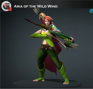 Aria of the Wild Wind (Windranger Set)