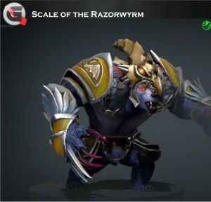 Scale of the Razorwyrm  (Ursa Set)
