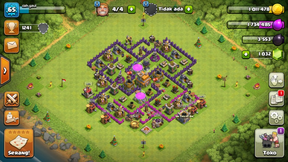 Clash Of Clans TH 7 MAX