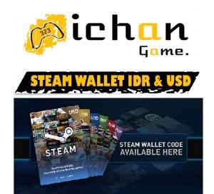 Steam Wallet Code - US$5