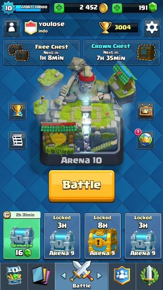 Arena 10   7 Legendary