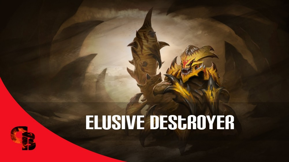 Elusive Destroyer (Sand King Set)