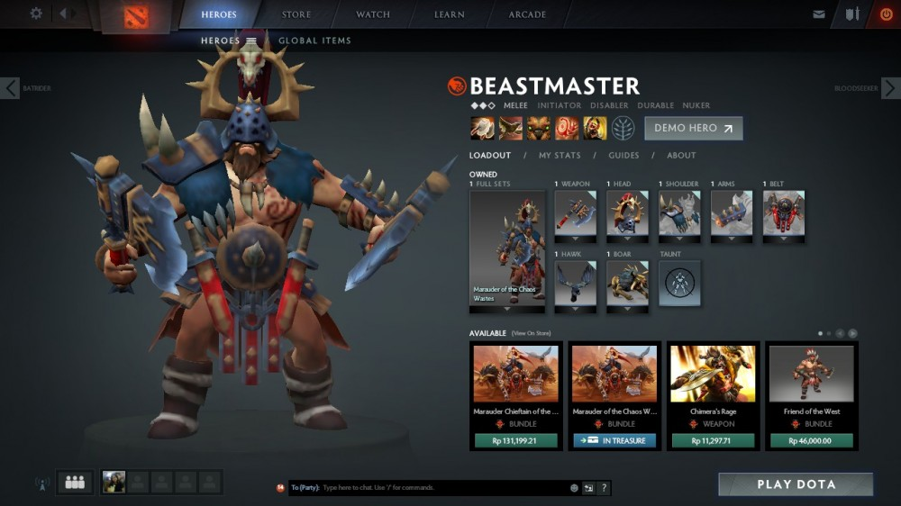 Marauder of the Chaos Wastes (Beastmaster Set)