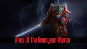 Arms of the Gwimyeon Warrior (Juggernaut Set)