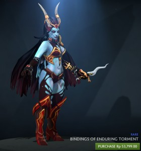 Bindings of Enduring Torment (Queen of Pain Set)