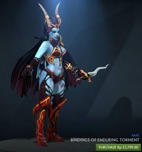 Bindings of Enduring Torment (Queen of Pain Set)