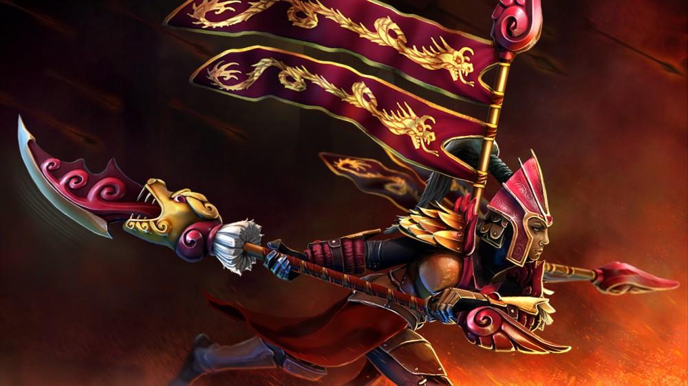 Commander of the Dragon Guard (Legion Commander Set)
