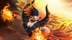 Fireflight Scion (Lina Set)