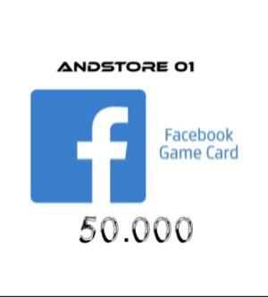 Facebook Game Card 50.000