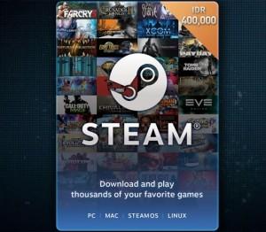 Steam Wallet Code IDR 400,000