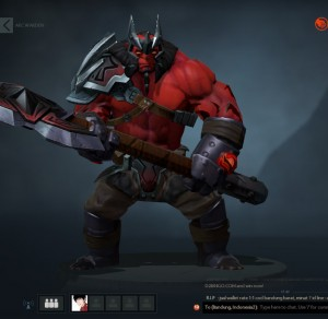 The Red Conqueror (Axe Set)