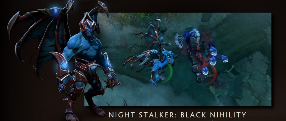 Black Nihility (Immortal Night Stalker Set )