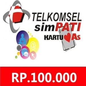 Pulsa Telkomsel 100rb