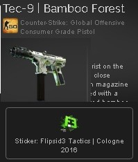 Tec-9 | Bamboo Forest + Sticker
