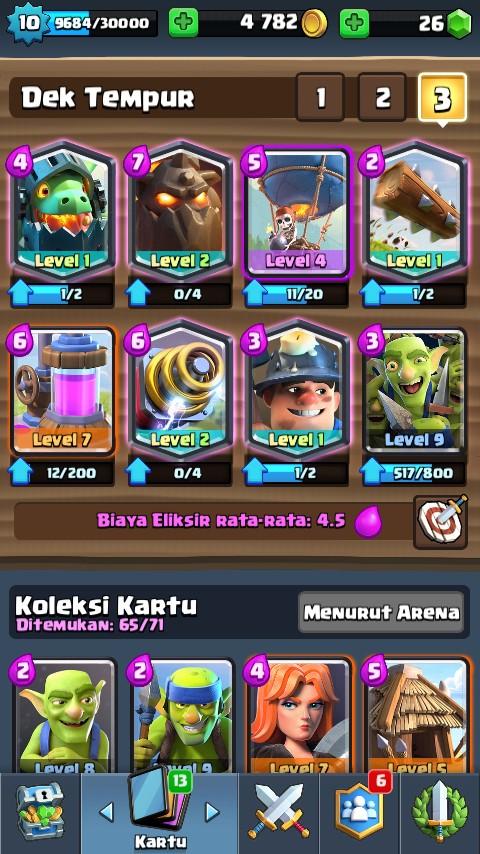 arena 9 legend 5