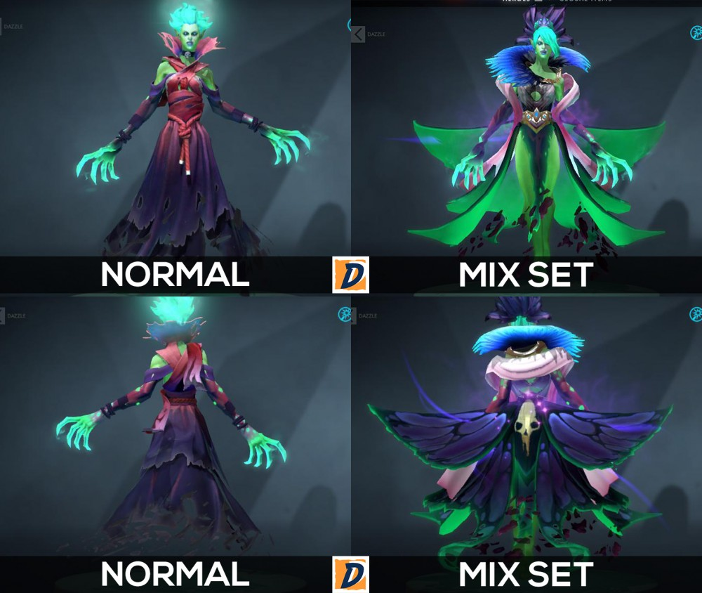 Jual Death Prophet Mix Set (Immortal) game Dota 2 | itemku