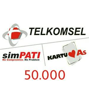 Pulsa Telkomsel 50rb