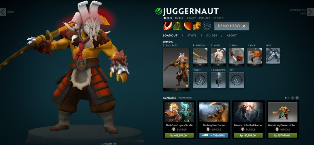 set juggernaut mix (fireborn odachi)