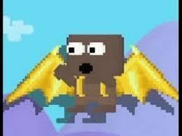 Golden Razor Wings - Growtopia