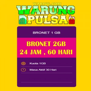 Paket Internet Axis Data Bronet 2GB 24jam 60 Hari