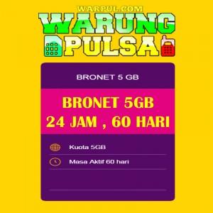 Paket Internet Axis Data Bronet 5GB 24jam 60 Hari