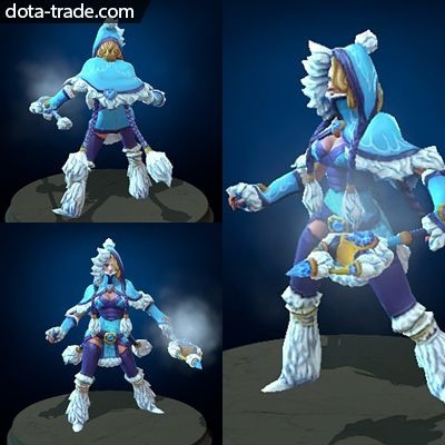 jual winter snowdrop crystal maiden set dota 2 oleh cgh. Black Bedroom Furniture Sets. Home Design Ideas