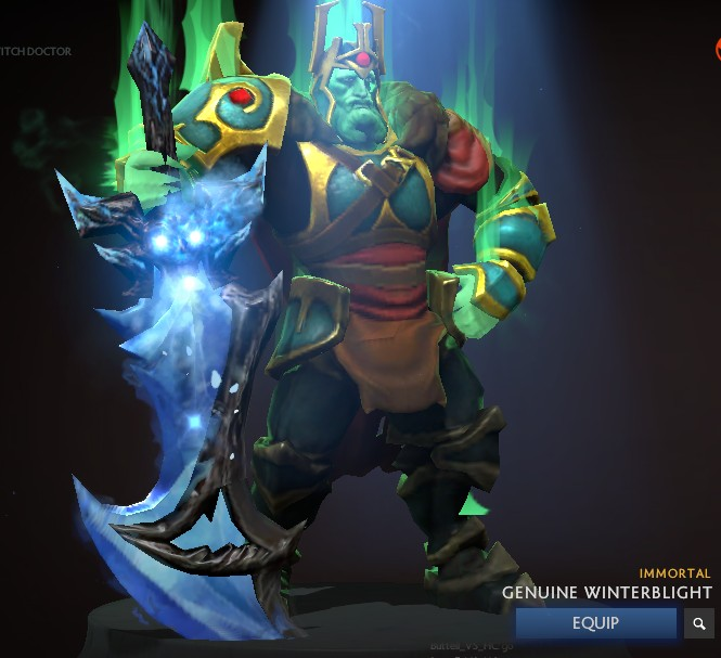 Jual Genuine Winterblight (Immortal Wraith King) Dota 2