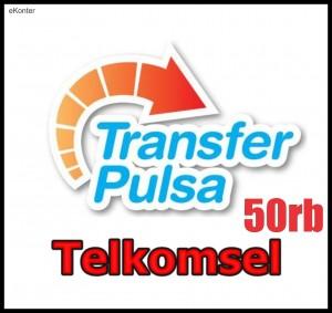 Pulsa Transfer Telkomsel 50rb