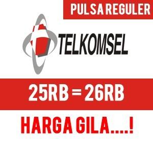 Pulsa Telkomsel 25rb