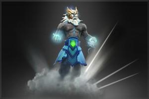 Exalted Tempest Helm of the Thundergod (Arcana Zeus)