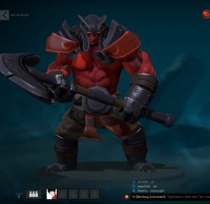Bloodmist Armor (Axe Set)