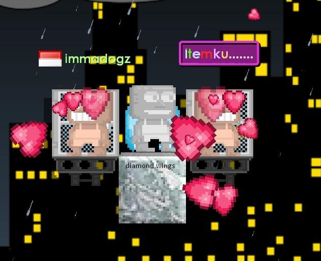 Jual diamond wings game Growtopia | itemku