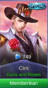 Guns and Roses (Special Skin Clint)