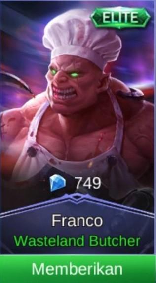 Penyembelih Gurun (Skin Franco)