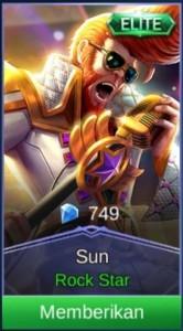 Rock Star (Special Skin Sun)