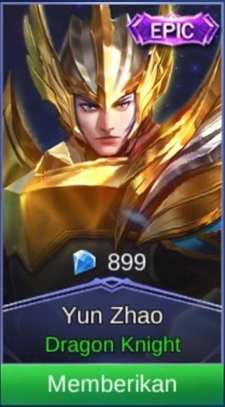 Glorious General (Epic Skin Zilong)