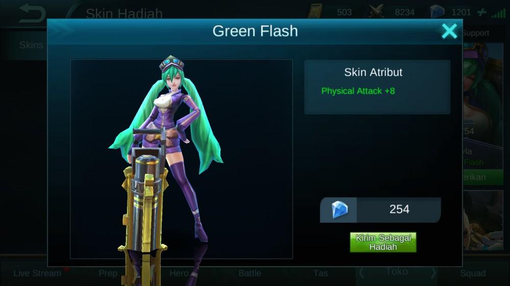 Green Flash (Skin Layla)