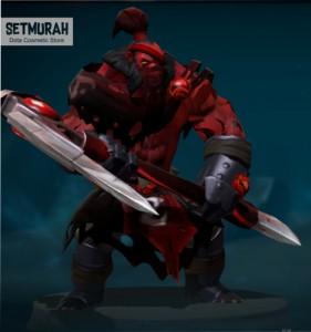 Red Mist Reaper Set (Axe Set)
