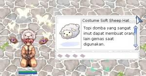 Costume Soft Sheep Hat