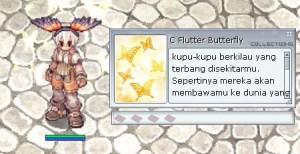 C.Flutter Butterfly