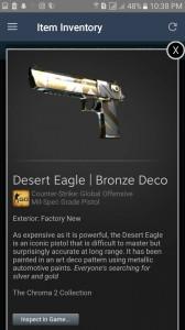 Desert Eagle | Bronze Deco (Mil-Spec Grade Pistol)