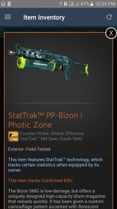 StatTrak™ PP-Bizon | Photic Zone